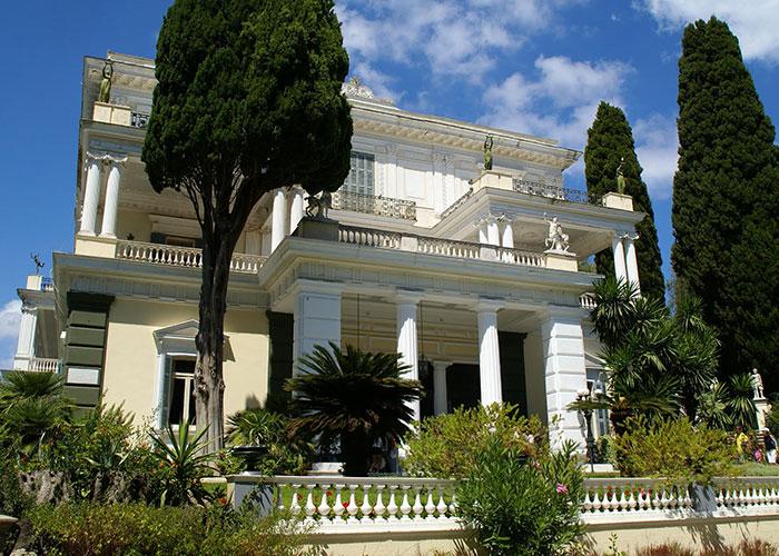 Achillion Evening Tour | Corfu Perspectives Guided Tours
