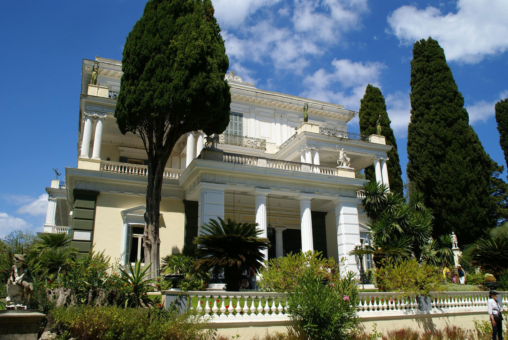 Achillion Palace | Corfu Perspectives Guided Tours
