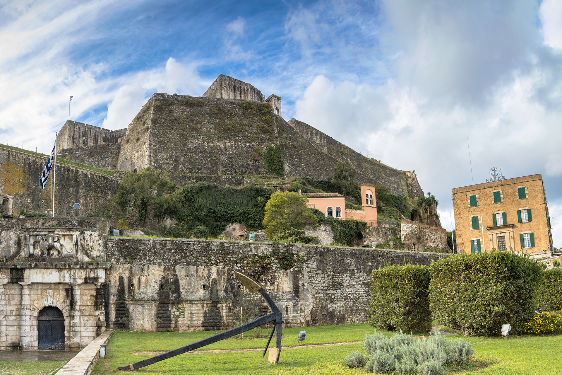 New Fortress | Corfu Perspectives Guided Tours